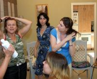 Консультация в центре по уходу за волосами